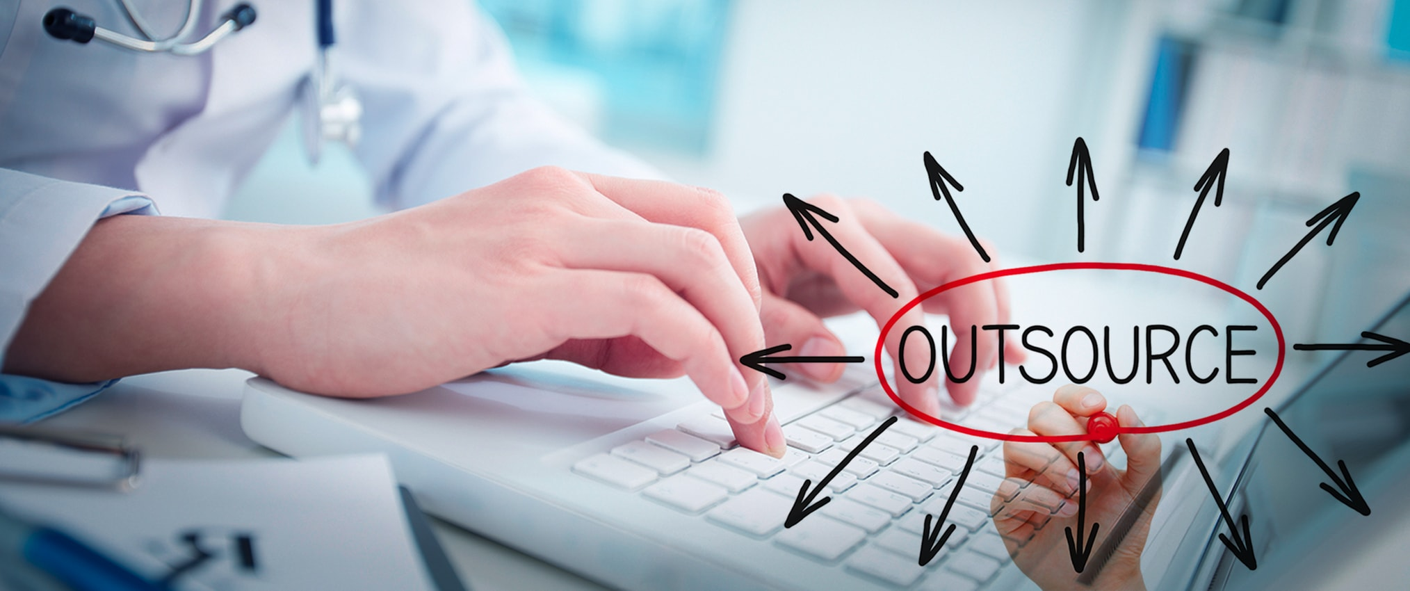 does outsourcing medical data entry benefit healthcare companies